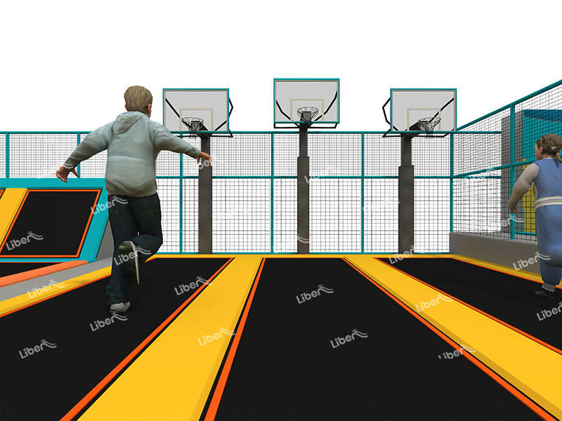 Large Indoor Trampoline Park Equipment
