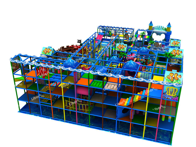 Liben Ocean Theme Indoor Play Space