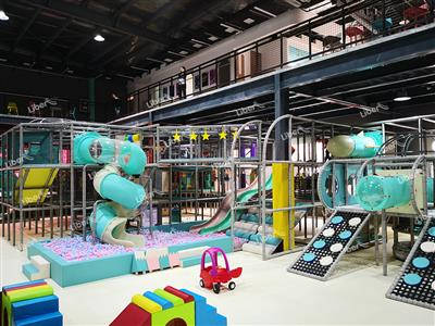 Liben Indoor Soft Play Park in Jiangsu, China