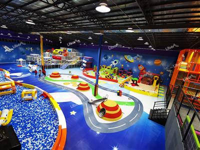 Liben Indoor Playground Project in Tianjin