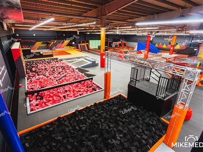 Liben Trampoline Park Project in Poland