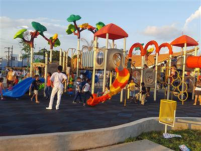 Liben Outdoor Playground Project in Nicaragua
