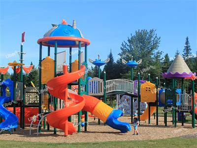 Liben Outdoor Playground in Canada