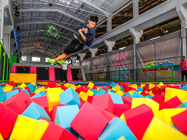 What Is  The Advantage Of Interactive Trampoline Park Franchise ?
