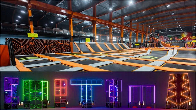 What is Smart Trampoline Theme Park?