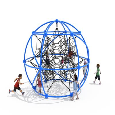 Kids Net Custom Climbing Play Structure