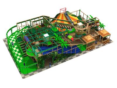 Jungle Theme Indoor Playground