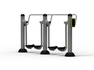 Outdoor Fitness Equipment Double Air Walker