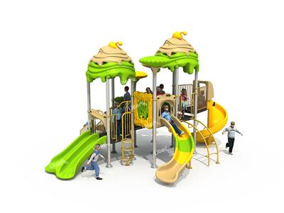 Outdoor Special-shaped Log Playground Equipment