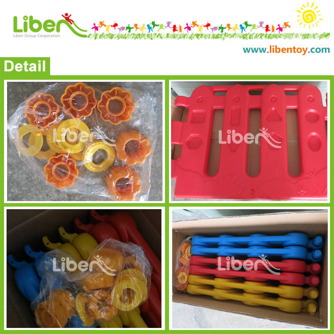 Plastic Ball Pool packing detail