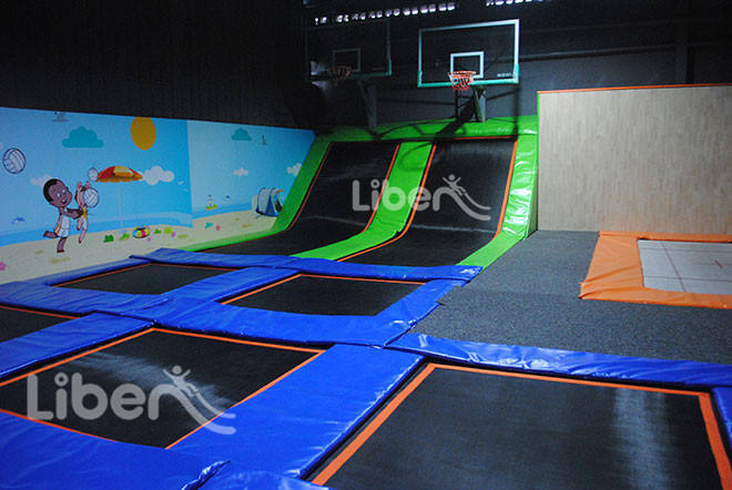 Liben Gallery of Kids Indoor Trampoline Games