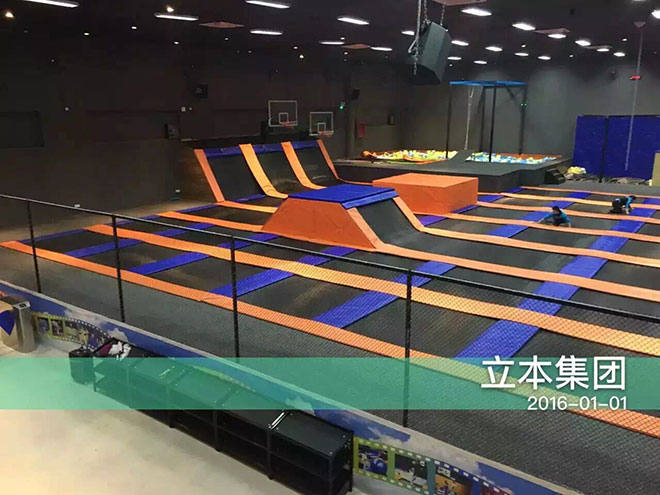 Project of Indoor trampoline Games