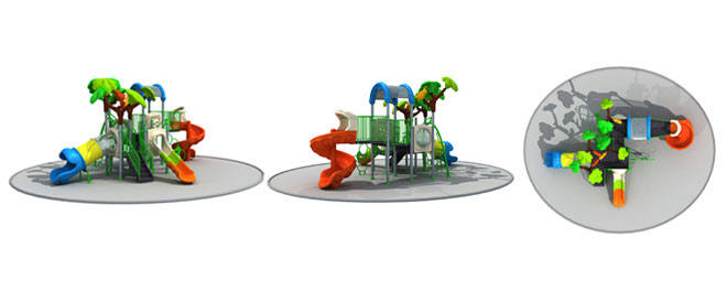 New Design Outdoor Playground LE.CY.012