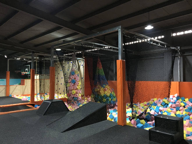 Liben Customize Trampoline Park Project-Ninja Course