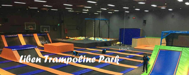 Trampoline Park Supplier-Liben