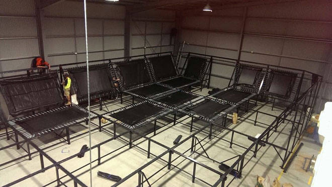 China Trampoline Park Builder-Installation