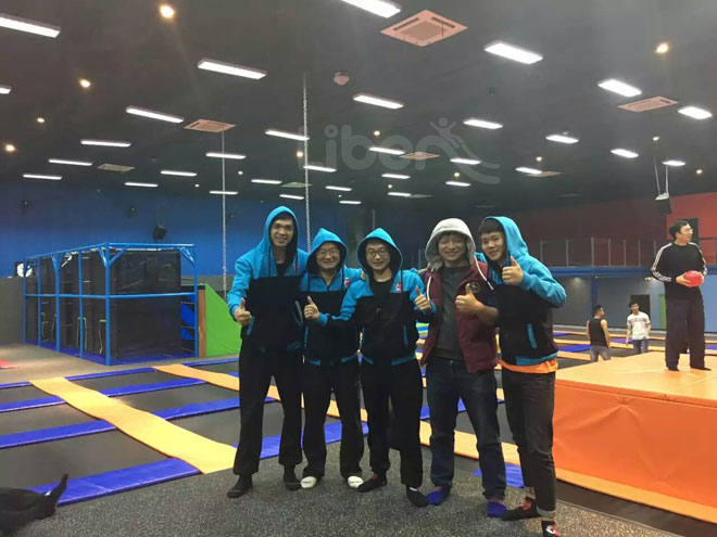 China Trampoline Park Builder-Opening