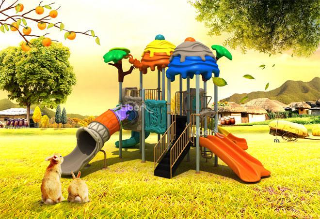 backyard playground supplier design