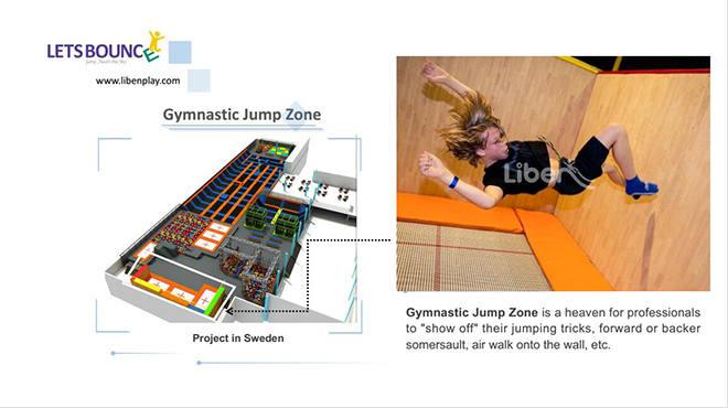 Trampoline Gymnastic Trampoline