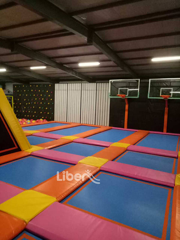 Kids Indoor Trampoline Park Project in Tianshui