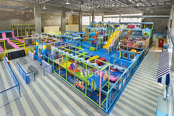 Liben Indoor Trampoline and Soft Play Center Project in Malaysia (6)