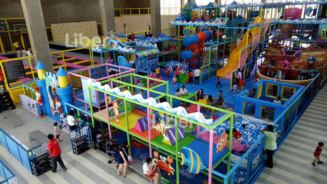 Liben Indoor Trampoline and Soft Play Center Project in Malaysia (8)