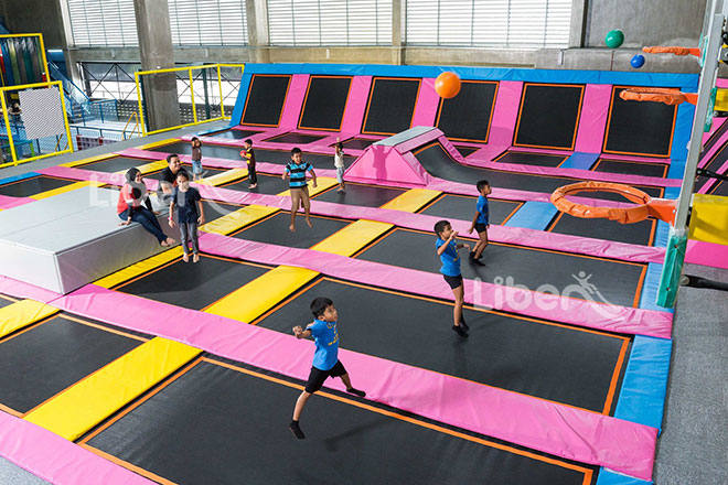 Liben Indoor Trampoline and Soft Play Center Project in Malaysia (9)