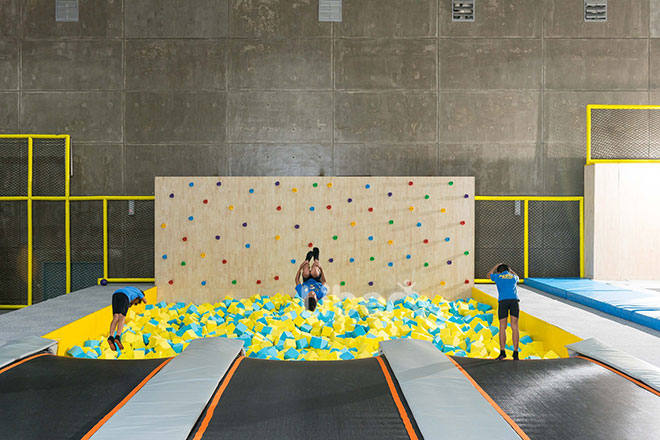 Liben Indoor Trampoline and Soft Play Center Project in Malaysia (10)