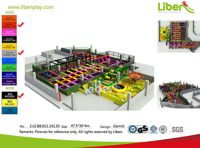 Comprehensive Large Indoor Soft Play Amusement Park in Nan Chang