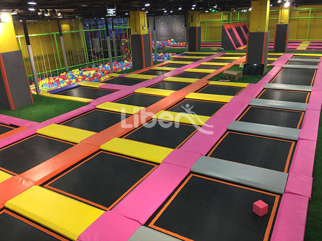 Kids Indoor Soft Play Trampoline Park Supplier in China (6)