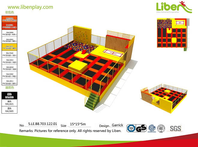 turn-key service China indoor trampoline park factory