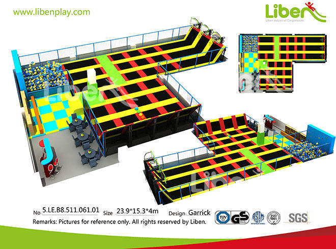 To Buy China Best Selling Large Jump Trampoline Park Factory