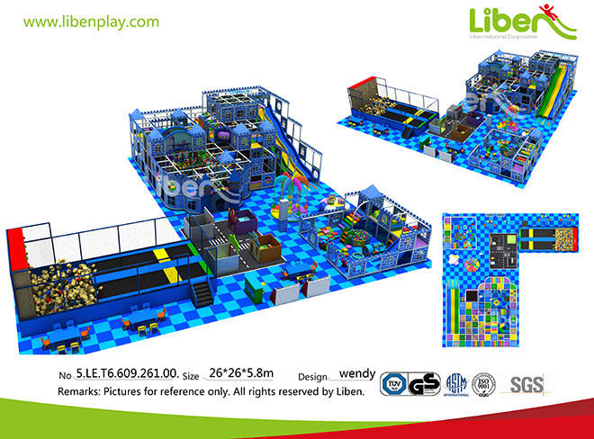 5.LE.T6.609.261.00 Kids Indoor Play Area for Commercial Use  (5)