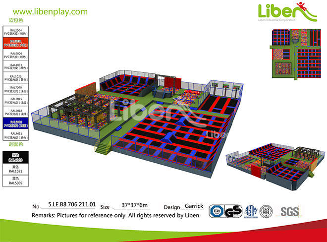 5.LE.B8.706.211.01 ASTM Certified Trampoline Park Supplier (5)